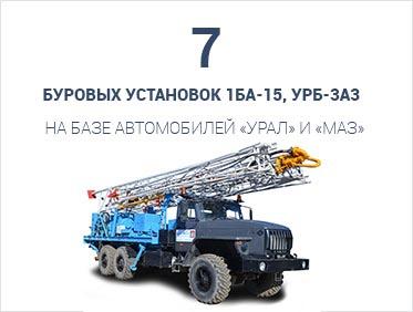 буровая установка 1БА-15, УРБ-3А3